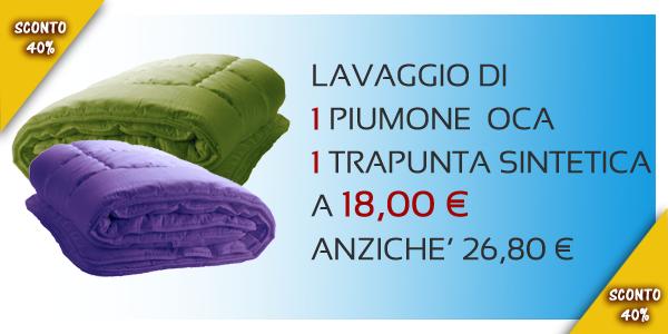 Costo Lavaggio Piumone Matrimoniale.Lavanderia Olimpic Offerta Lavaggio Piumoni Torino