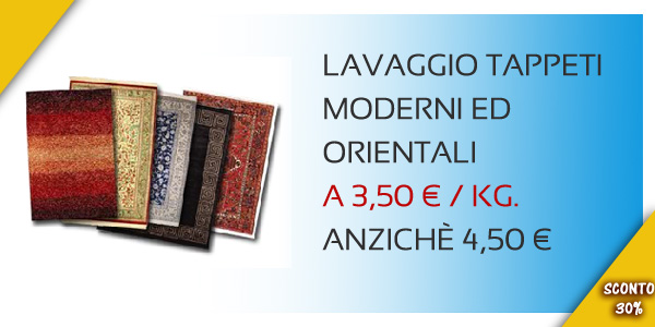 LAVANDERIA OLIMPIC - Offerta Lavaggio Tappeti Torino